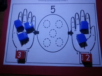 Composing Decomposing Number 5 Activities Eng and Spanish C-scope Common Core