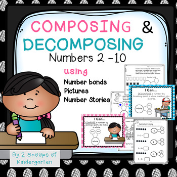Composing & Decomposing Numbers 2-10 ~ Number bonds~ numbe