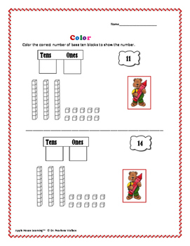Kindergarten Math: Composing & Decomposing  Numbers  - Activities