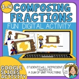Composing & Decomposing Unit Fractions Google Slides Digit