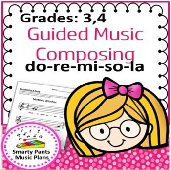 Composing Music  {Guided music composition activities }