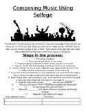Composing Music Using Solfege