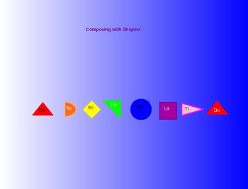 Composing Music with Shapes