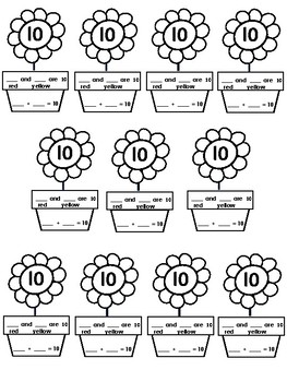 Composing Number Flowers