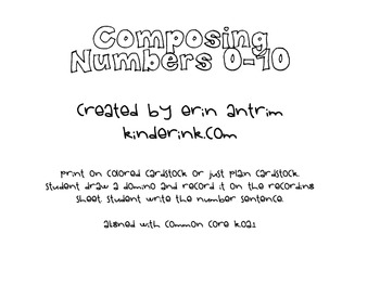 Composing Numbers 0-10