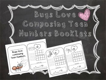 Composing Numbers 10-20 Bug Edition