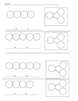 Composing Numbers 4 and 5: Number Bonds