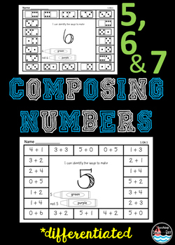 Composing Numbers 5, 6, and 7