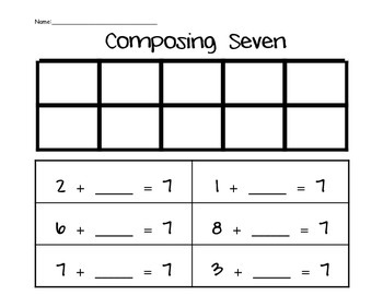 Composing Numbers 6-10