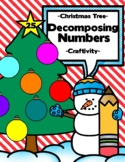 Composing Numbers Christmas Tree Craftivity