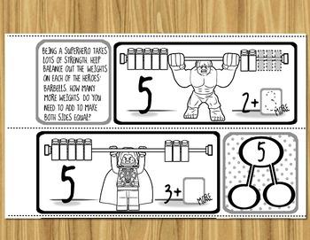 Composing Numbers In Kinder -- Number Bond + Addition Mini-Books BUNDLE!