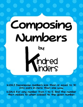 Composing Numbers - K.OA.3