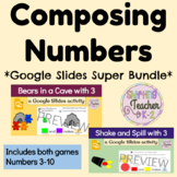 Composing Numbers *Super Bundle* with Google Slides