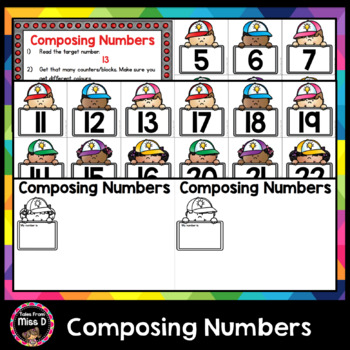 Composing Numbers - Ways to make numbers