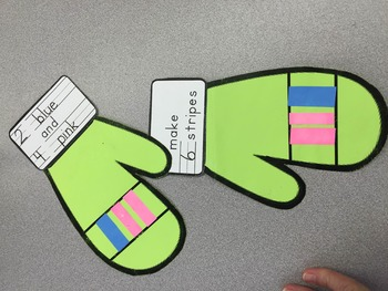Composing Numbers: Winter Mittens - A Math Craftivity
