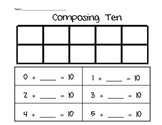 Composing Numbers and Missing Addends