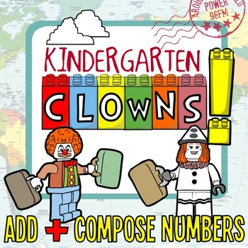 Composing Numbers with Clowns! - Addition Mini-Books for K