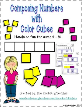Composing Numbers with Color Cubes