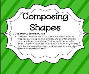Composing Shapes