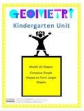 Composing Shapes Lesson Plans - Kindergarten