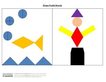 Composing Shapes Lesson Plans - 1st Grade