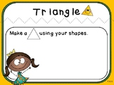 Composing Shapes Mats (Kindergarten Geometry Activity, K.G.6)
