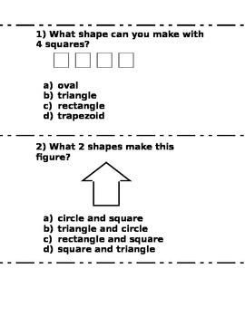Composing Shapes Test