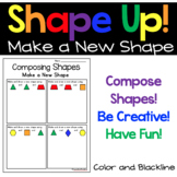 Composing Shapes- What Can You Make With These Shapes?