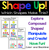Composing Shapes- What Shapes Make This?