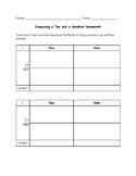 Composing Tens and Hundreds Homework