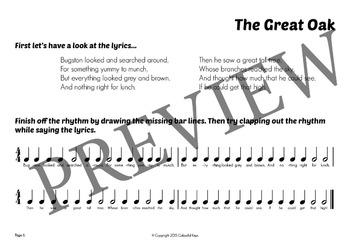 Composing Unit: The Great Oak