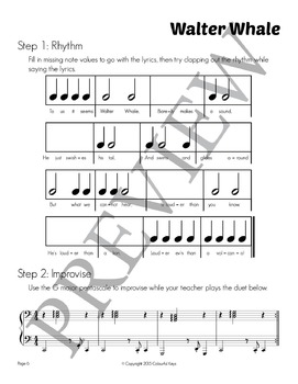 Composing Unit: Walter Whale