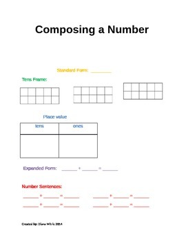 Composing a Number