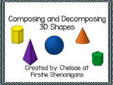 Composing and Decomposing 3D Shapes