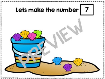 Composing and Decomposing Numbers 1-10 - Seasonal Theme