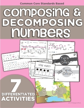 composing and decomposing numbers 11 19 differentiated materials. Black Bedroom Furniture Sets. Home Design Ideas