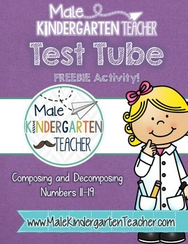 Composing and Decomposing Numbers (11-19) Test Tube Activi