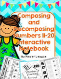 Composing and Decomposing Numbers 11-20 Interactive Notebo