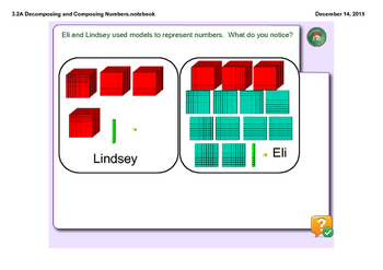 Composing and Decomposing Numbers 3.2A