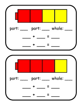 Composing and Decomposing Numbers- Part-Part-Whole by Jodi ...