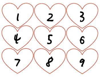 Composing and Decomposing Numbers Valentine's Day Activity