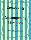 Composing and Decomposing Numbers to 10