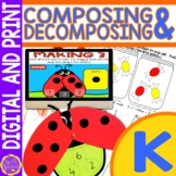 Composing and Decomposing Numbers to 10 | Number Bonds to
