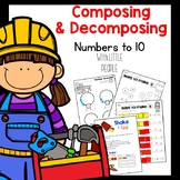 Composing and Decomposing Numbers with Little People