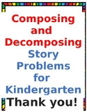 Composing and Decomposing Story Problems