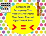 Composing and Decomposing Teen Numbers / Greater Than, Les