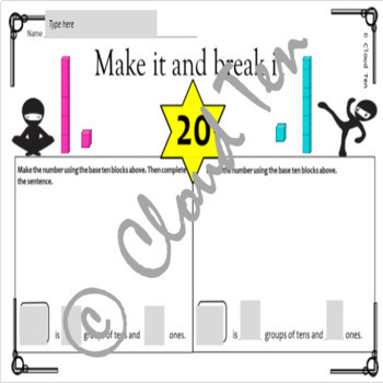 1.2B Composing and decomposing numbers up to 120