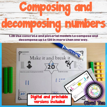 1 2B Composing And Decomposing Numbers Up To 120