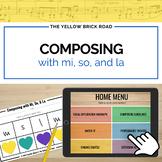Composing with Mi, So, and La
