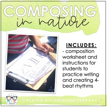 Composing in Nature {Great for Distance Learning}